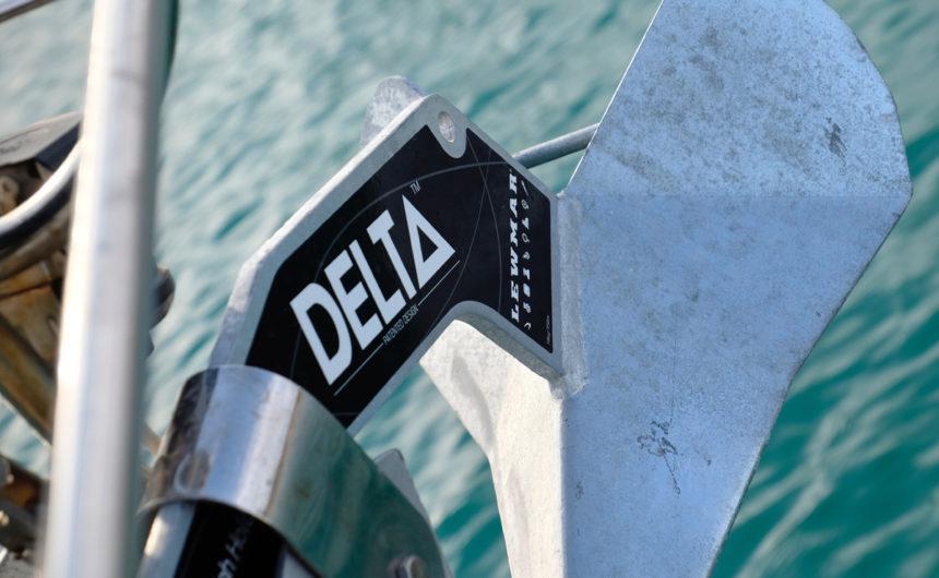 Delta anchor