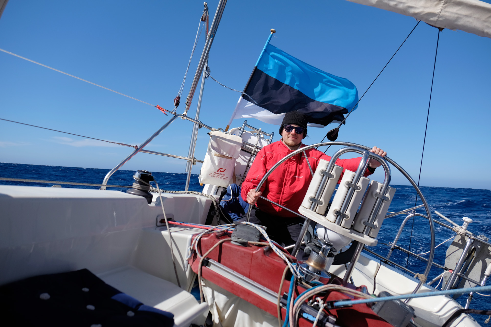 Sailing towards Malta